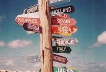 •Around the World• / My one wish is travel the world.✈ / by Ashley Hays