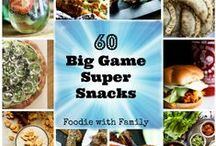 Super Bowl / Snacks for the big game!