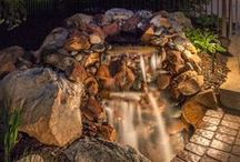 Lighting Water Features / by McKay Landscape Lighting