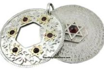 Ana BeKoach Jewelry / The Ana Bekoach prayer is one of the most important Kabbalah prayers. It was written in the first century by a great Kabbalistic Rabbi - Rabbi Nehumia Ben Hakannah. By wearing Ana Bekoach jewelry, you will bring positive energy to your life and better overcome obstacles.