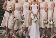 Wedding style - Blush Maids / Inspiration for Styling your maids in perfect Blush tones