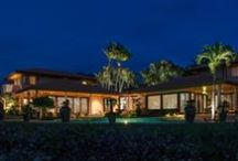 Tropical Landscape Lighting / Outdoor Lighting Project in Maui, Hawaii / by McKay Landscape Lighting