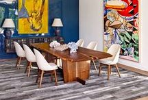 Dining Room | Dining Room Table | Dining Room Decor | Dining Room Furniture | Inspiration / Are you looking for a new Dining Room look? Are you looking for a new Dining Room Table? This board is filled with all the different styles you could possibly have.