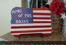 Party Ideas - Patriotic / 4th of July or Memorial Day / by Laurie Mason