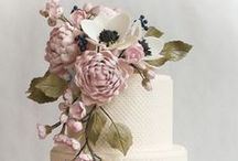 Cakes! / Wedding Cakes; A Delicious Eyeful. - #wedding #married