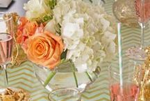 Fabulous Table Settings / A well dressed table elevates any party. find some great ideas and inspiration to make your next table setting fabulous.