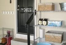 Organized Garages / Organize your garage and find what you need when you need it. / by Time For You ORGANIZING