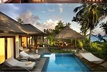 Honeymoons and Travel / Honeymoon inspiration from luxury holiday destinations all over the world - we wish we were here!