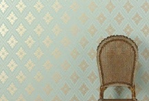 Wallpaper and Walls / Paper, Decals, Stencils / by Sariah Lunsford