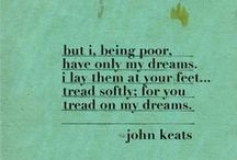 L I T E R A R Y - T R E A T S / Basically just my obsession with John Keats, and a few others.