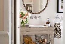 Bathroom main level / by Sariah Lunsford