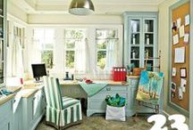 Craft Rooms / Home offices / Making the best of space in your home for a craft room or home office!