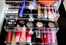 Organized Makeup & Hair Products / by Time For You ORGANIZING