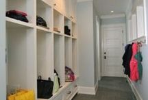 Organized Mudrooms & Entries / Organizing and design ideas for your mudroom. / by Time For You ORGANIZING