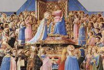 Nouveau testament : Le couronnement de la Vierge