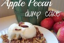 Dump cake recipes / Recipes where ingredients and dumped in together / by Susan Monroe