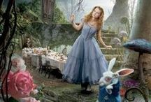 Alice in Wonderland and friends / Mad Hatter Tea party ideas etc... / by Mary Jane Watson