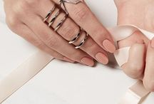 Ring Party / More is more... when it comes to rings (and jewellery) stack them up and make a statement.