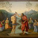 Nouveau testament : le baptême du Christ