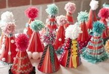 FABulous Party Stuff / I adore parties and holiday decor! / by Elizabeth Hall Conley / Violently Happy