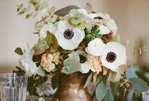 // Floral Adoration // / Bouquets, arrangements, and even outside florals. Love deep tones, but don't neglect the lights.