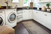 Laundry Room Ideas / by Misty Standard