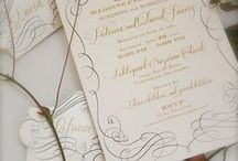 Invitations and Paper Accessories that matter