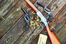 Six Shooters & Long Guns / by Brent Wilson