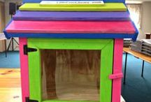 Little free library ideas / Ideas for little free library