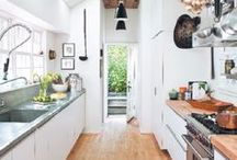 Kitchens / Here are my inspiration for dream kitchens / by Elizabeth Hall Conley / Violently Happy
