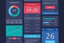 User Interface / User Experience | Free Web UI Kits | Flat Design | Dashboard Design | Analytics Design
