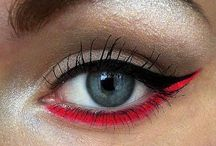 Eye Make-up / How To Get The Look - Fabulous Eyes. Eye Shadow | Mascara | Cat Eyes | Smokey Eyes | Colored Eye Liners