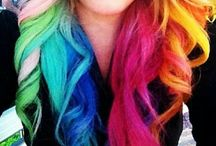 Color My Hair Happy / Pink | Red | Fuchsia | Teal | Blue | Purple | Orange Hair - All The Shades of The Rainbow - Hair Dye That's Fly!