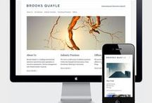 Microsites - Corporate / Simple, one-page websites with a corporate focus.