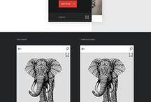 Portfolio - Presenting Digital Work / Ideas and inspiration for presenting digital work (for a static platform)
