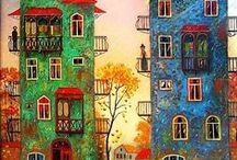 David Martiashvili oil paintings