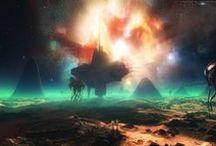 Astrograf / Landscapes of other planets