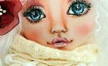 Cute dolls faces