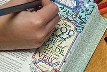 ♥ Bible Journaling & Art ♥