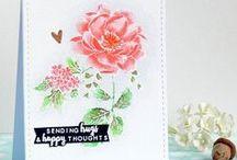 My card making: Watercoloring