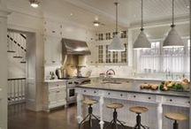 Special Kitchen Spaces / The kitchen is the heart of the home and, for many of us, a favorite room in the house. / by Mary Ann O'Malley