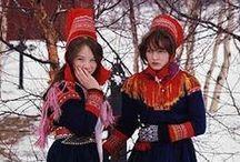 Scandinavian Folk Costumes / by Scan Heritage
