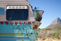 A Glamping We Will Go.... or Air Supply, that is! / Iconic Airstreams have us tickled into a tizzy. How do you roll?