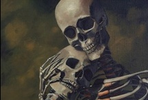 Skulls, Skeltons, Day of the Dead, Positive Death / by Cindy Carter