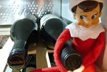 Elf on the Shelf / If Pinterest was around 12 years ago, I would have started this tradition in our family...  these pins crack me up!