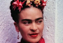 ✿⊰ Frida ⊱✿ / ✿ All things Frida Kahlo ✿ Magdalena Carmen Frieda Kahlo y Calderón Considered one of Mexico's greatest artists, began painting after she was severely injured in a bus accident. She later became politically active and married fellow communist artist Diego Rivera in 1929.  Born: 06JUL1907, Coyoacán, Mexico City; Died: 13JUL1954, Coyoacán, Mexico City * Period: Surrealism * Artwork: Self-Portrait with Thorn Necklace and Hummingbird. Spouse: Diego Rivera  / by Gloria Villamarzo