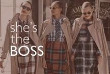 She's the Boss / Work it, working girl.