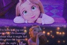 Tangled ~ Disney / And At Last I See The Light / by Sarah Dalton