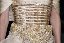 Art With Fabric / Its All In The Details... Beautiful details of clothing / by Kathy Jackson