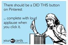 Pinterest! Tips & Humor